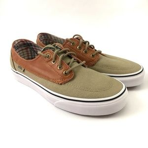 Vans Brigata Unisex Lace Up Sneakers 6.5/8